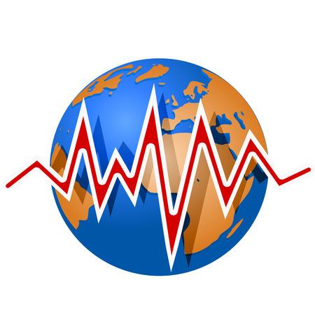 sismogr�fo: L�neas terrestres y terremoto. Escala de magnitud Richter