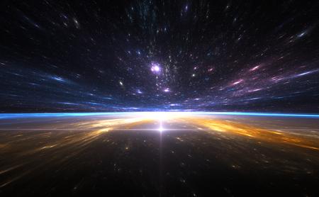 путешествие: Time Warp, путешествуя в пространстве.