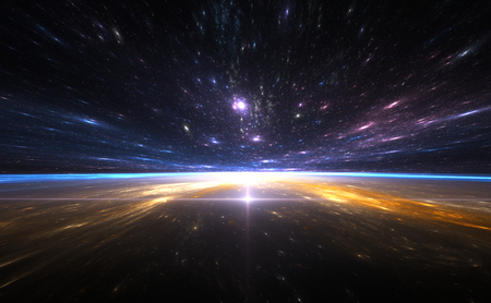 Time warp, traveling in space.
