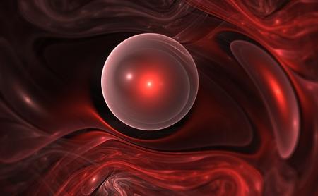 tige: Les globules rouges circulant dans la veine pour une utilisation avec des projets sur la science, la recherche, la biologie et de l'éducation