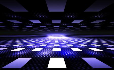 rectangular: 3D Illusion Geometric Background