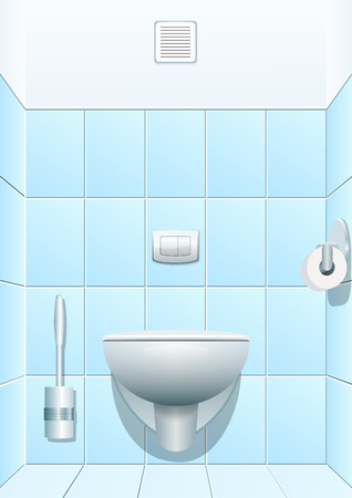urinate: Toilet. Vector illustration Illustration