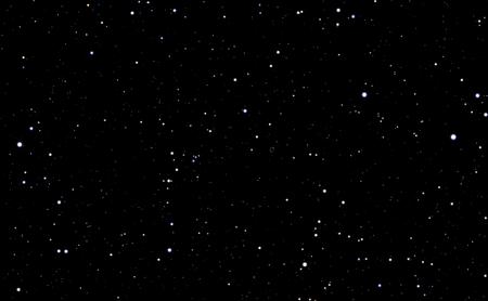 별과 우주 배경