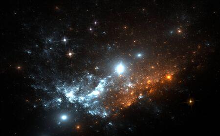supernova: Supernova explosion in the nebula