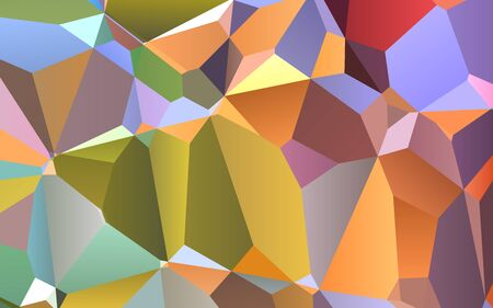 triangles: Abstract colorful geometric triangles background, polygonal design.