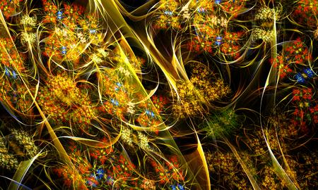 artwork: Fractal digital artwork, illustration