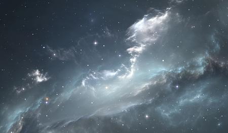 mystery: Space star nebula. Space background with nebula and stars Stock Photo