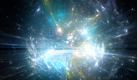 cosmos: Time warp, traveling in space.