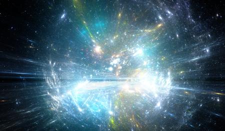kosmos: Zeitsprung, in den Weltraum reisen. Lizenzfreie Bilder