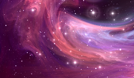 Reflection nebula the site of star formation, nebula radiates by reflected star light