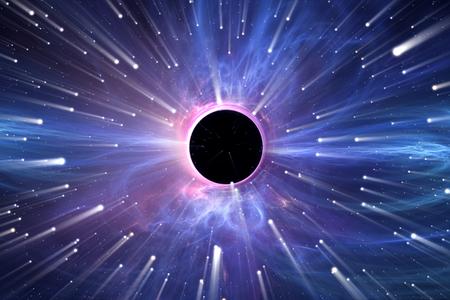 gravitational: Heavy gravitational field around Black Hole