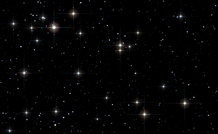 Space background with stars. Space stars background. Space texture with many stars for different projects Stock fotó - 88940118