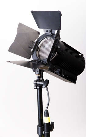 close-up single light source with full scrim