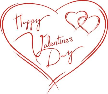 carta decorativa con cuori a San Valentino Vettoriali