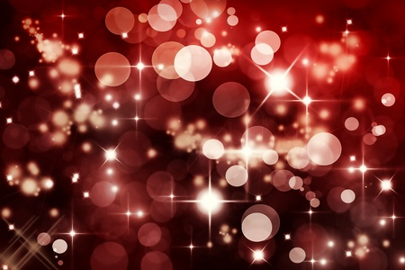 Abstract Winter background.  Christmas abstract bokeh photo