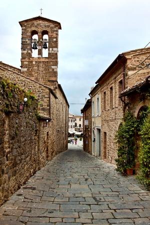 Montalcino - Picturesque nook of Tuscany Stock Photo - 13215697