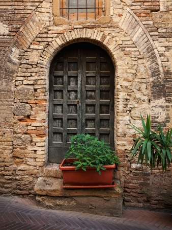 nook: Beautiful picturesque nook of rural Tuscany Stock Photo