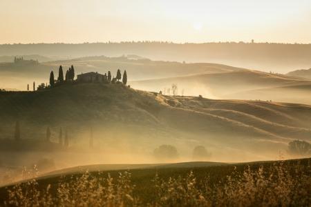Scenic view of typical Tuscany landscape Reklamní fotografie