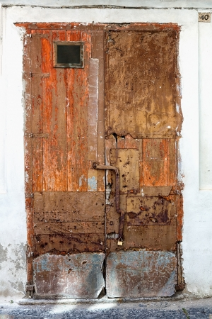 old door of Tuscany, Italy photo
