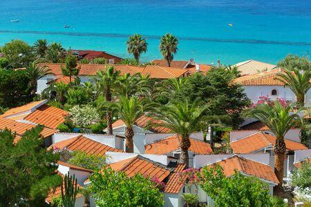 capo: Coast near the town of Capo Vaticano region Calabria - Italy