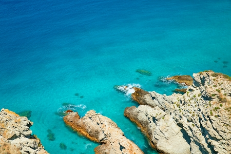 Coast near the town of Tropea region Calabria - Italy photo