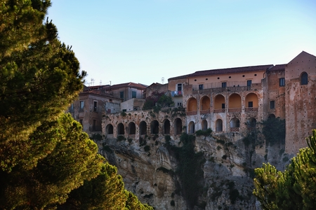 calabria: The old town of Tropea in southern Italy