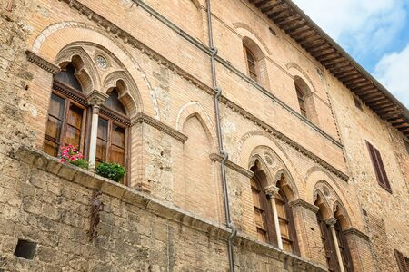San Gimignano - detail of local architecture photo