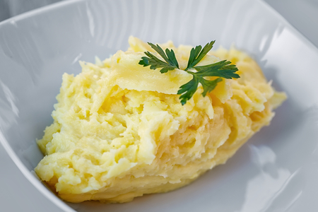 Freshly whipped mashed potatoes annex