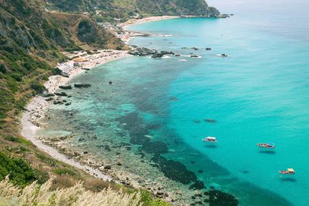 The wonderful coastline at Capo Vaticano near Tropea, Calabria, Italy Reklamní fotografie