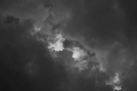 murk: clouds in the sky