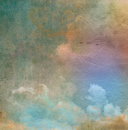 Sky  grunge background. photo