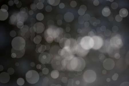 screen savers: Bokeh background black tones.