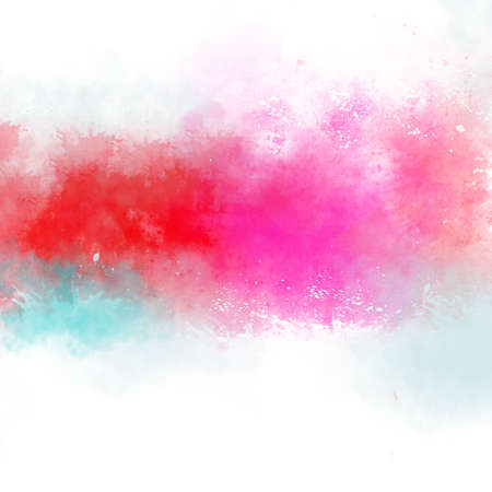 pastel color: Abstract watercolor painting.