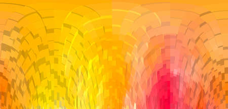 cubic: Abstract orange  cubic background. Stock Photo