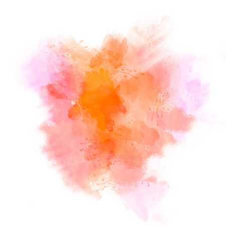 color splash: Abstract watercolor painting background. Stock Photo