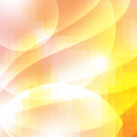 sharp curve: abstract orange background.