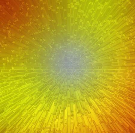 futurist: abstract orange background.