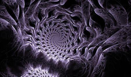 fractals: Fractals pattern blackground.