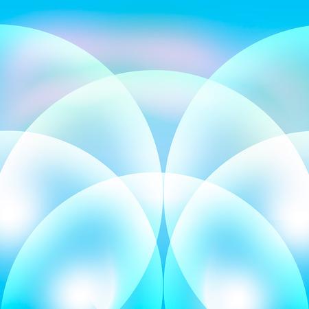 blue circles: Circles blue background.