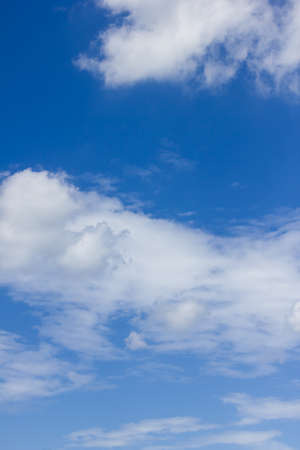 nimbi: Blue sky and white clouds.
