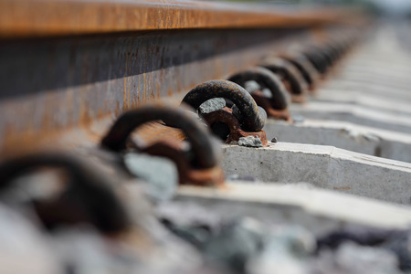 Matériel ferroviaire Anchor Banque d'images - 49128204