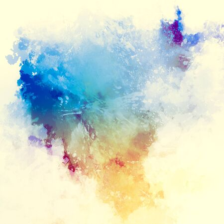 canvas background: Abstract watercolor painting background. Stock Photo