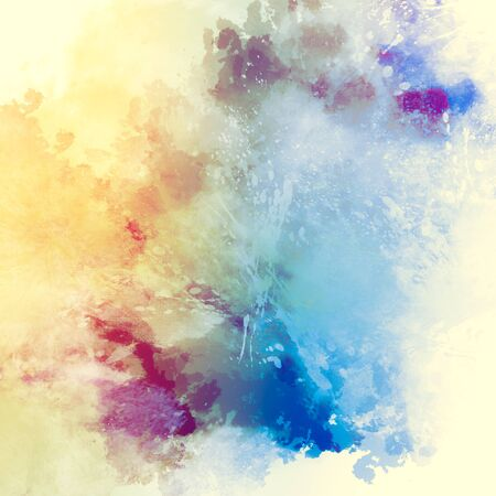background designs: Abstract watercolor painting background. Stock Photo