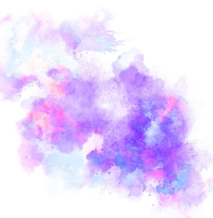 Abstract watercolor painting background. 版權商用圖片 - 59724286
