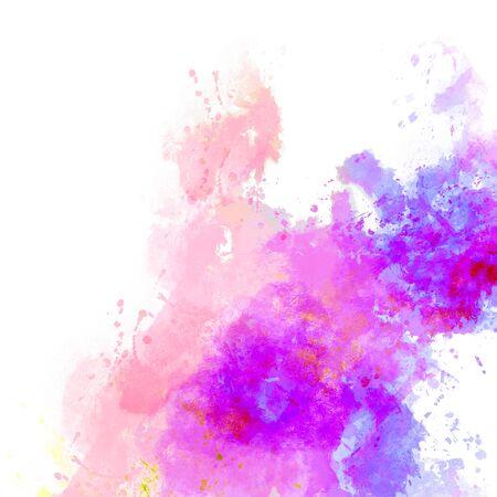 Pittura astratta dell'acquerello. Archivio Fotografico - 59724515