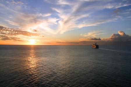 Sonnenuntergang in Barbados photo