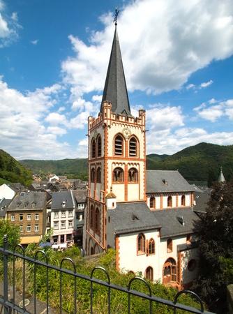 rhein: Kirche in Bacharach am Rhein