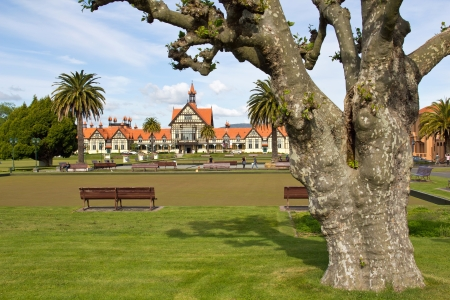 Neuseeland, Rotorua, Government Gardens Stock Photo - 19789187