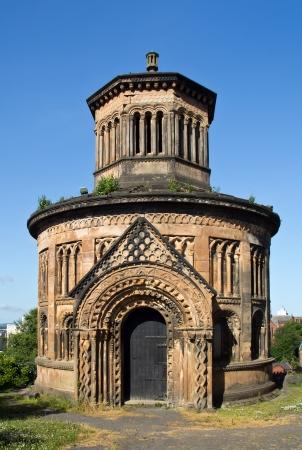 Schottland, Glasgow, Western Necropolis photo