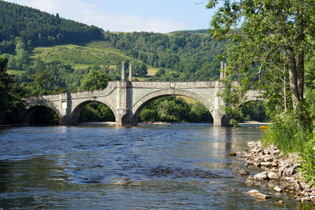 wade: Schottland, Aberfeldy, Wade s Bridge Stock Photo